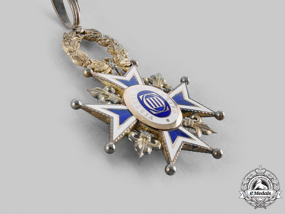 Spain, Kingdom. A Royal & Distinguished Order of Charles III, Commander, by Cevaljo Y Garcia c.1910