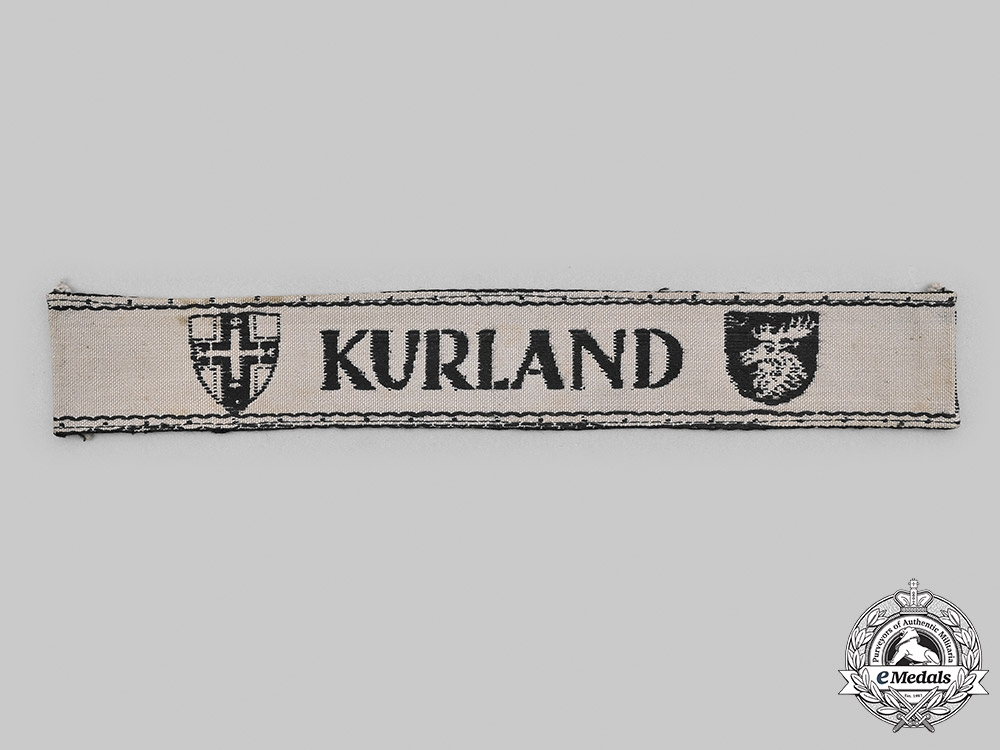 Germany, Wehrmacht. A Kurland Cuff Title