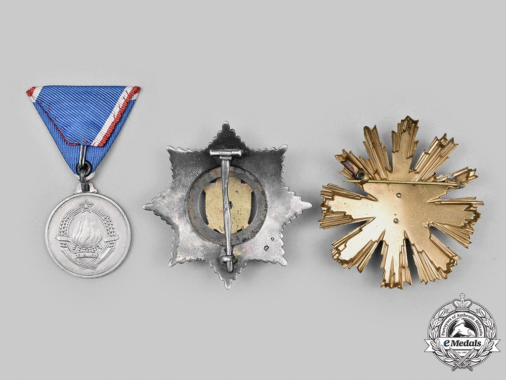 Romania, Yugoslavia. A Lot of Three Socialist Awards