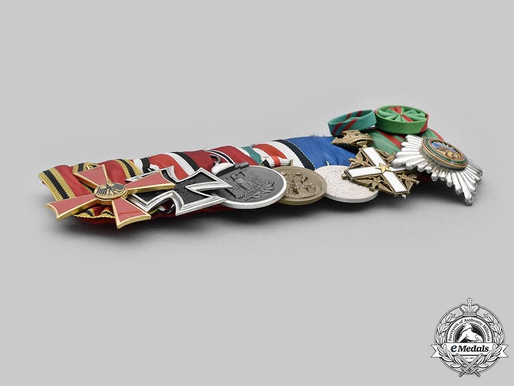 Germany, Federal Republic. A Medal Bar, 1957 Version