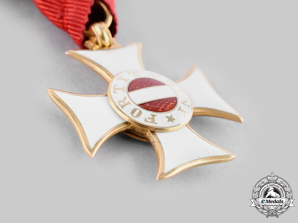 Austria, Imperial. A Military Order of Maria Theresa, Knight's Cross in Gold by Rothe, from the Estate of the Duke of Hanover