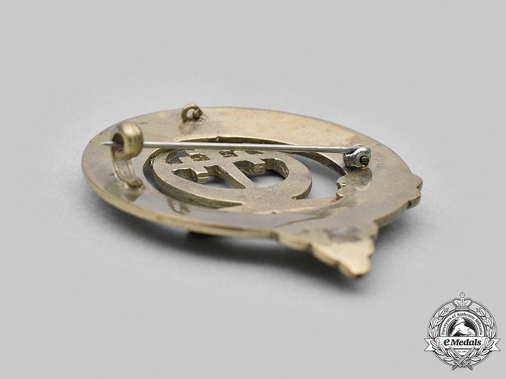 United Kingdom. A Silver Clan Hanney Badge