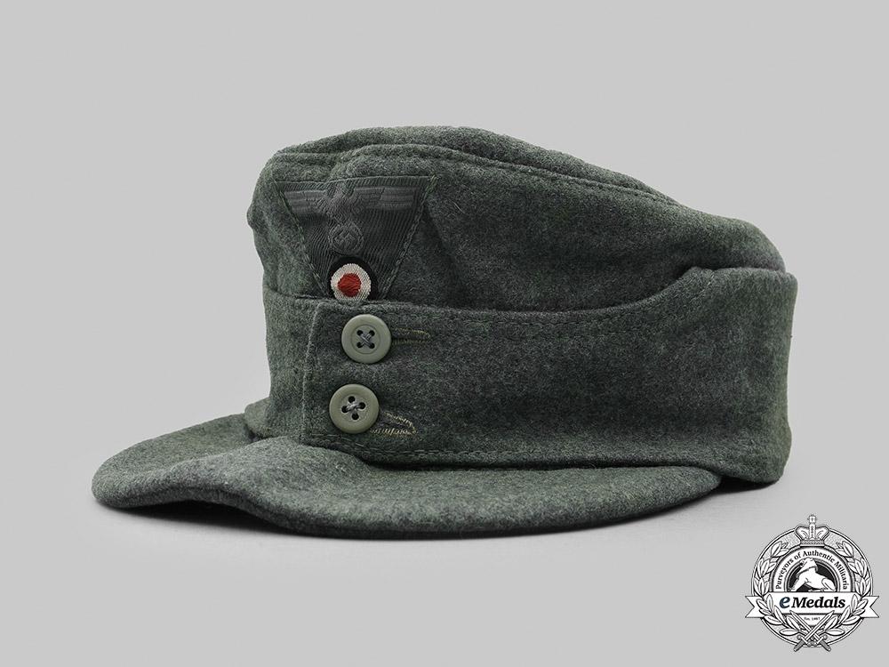 Germany, Heer. An EM/NCO's M43 Field Cap, by Hermann Potthoff