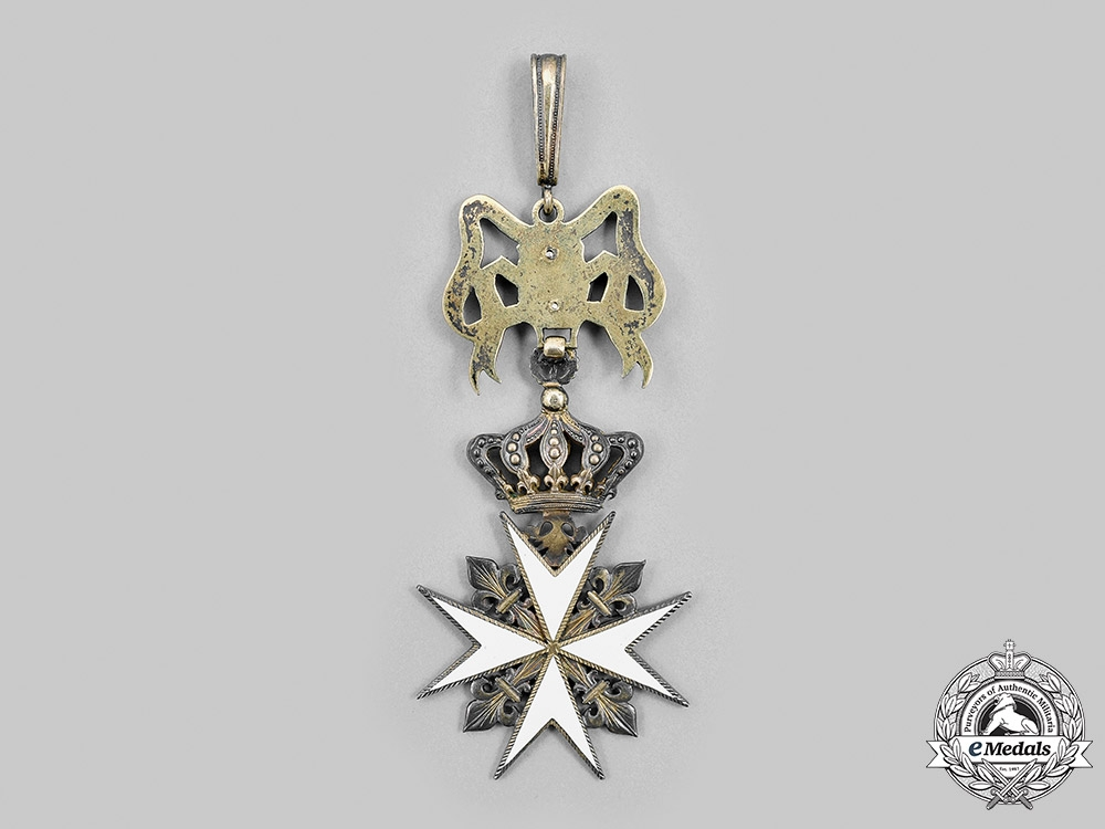 Austria, Imperial. An Order of the Knights of Malta, Badge of Knight of Magistral Grace of the Grand Priorate of Bohemia