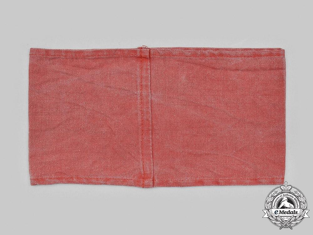Germany, Feuerschutzpolizei. A Feuerschutzpolizei Officer's Dress Bayonet& Party Armband