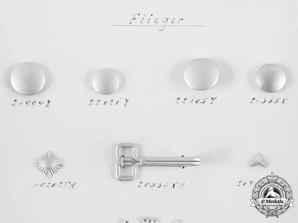 Germany, Flieger & Customs. An Assmann & Söhne Manufacturer's Quality Test Board