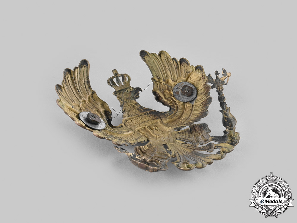 Germany, Imperial. A Prussian Pickelhaube Insignia