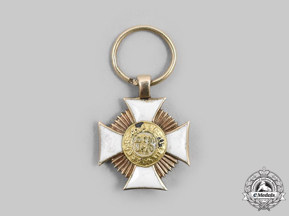 Wurttemberg. A Friedrich Order, Miniature Grand Cross in Gold, c.1900