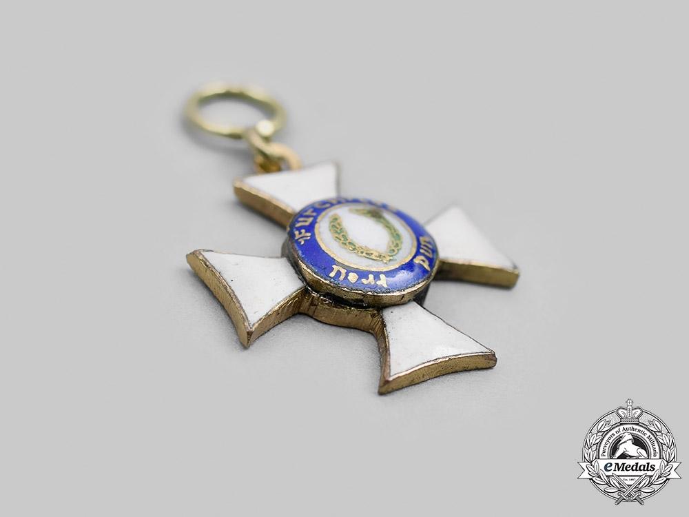 Wurttemberg. A Military Merit Order, I Class Knight, Miniature, c.1916