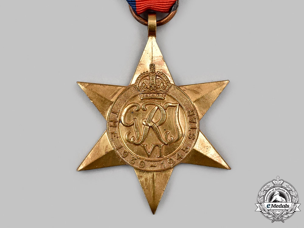 United Kingdom. A 1939-1945 Star with Battle of Britain Clasp (Collector's Copy)