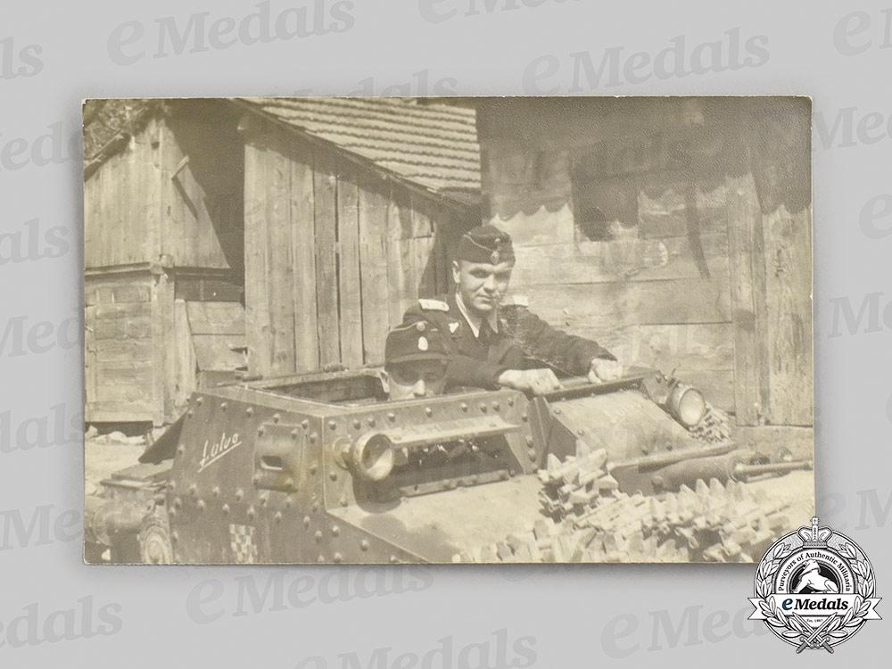 Croatia, Independent State. A Rare Tank Units Insignia, c.1941