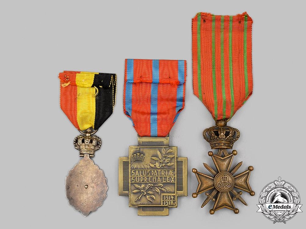 Belgium, Kingdom. A Lot of Three Awards