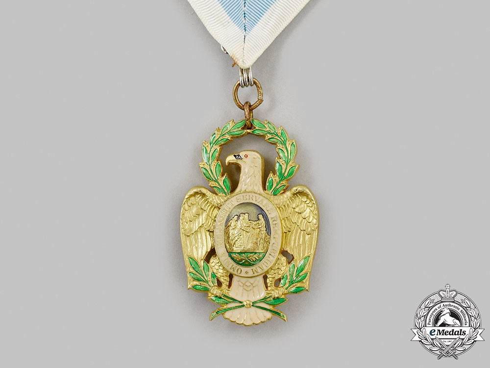 United States. The Society of The Cincinnati Eagle Medal, Modern Delaware Eagle by BB&B, c. 2000