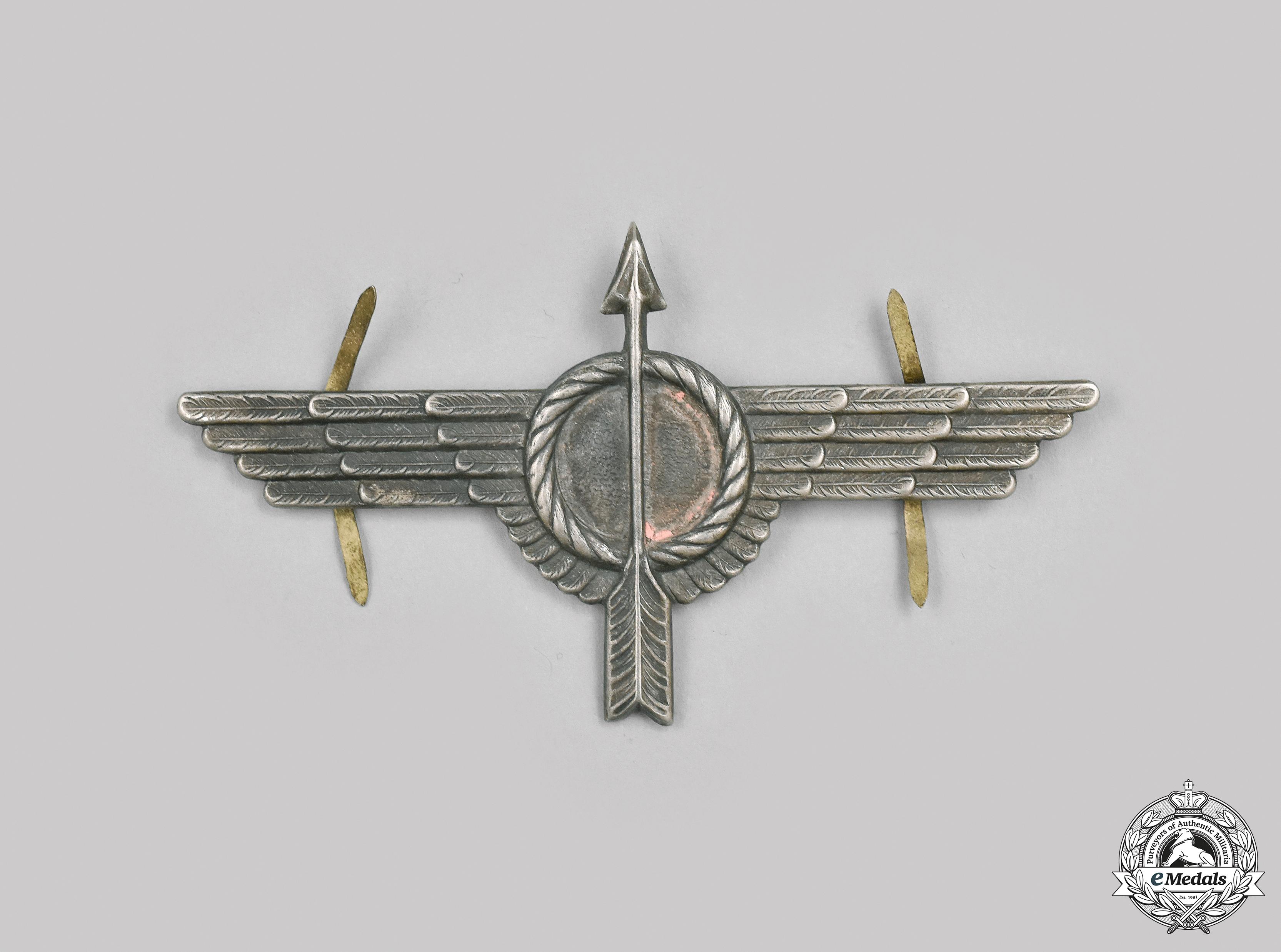 Spain, Republic. A Civil War Spanish Air Force Republican Anti-Aircraft Badge, c.1935