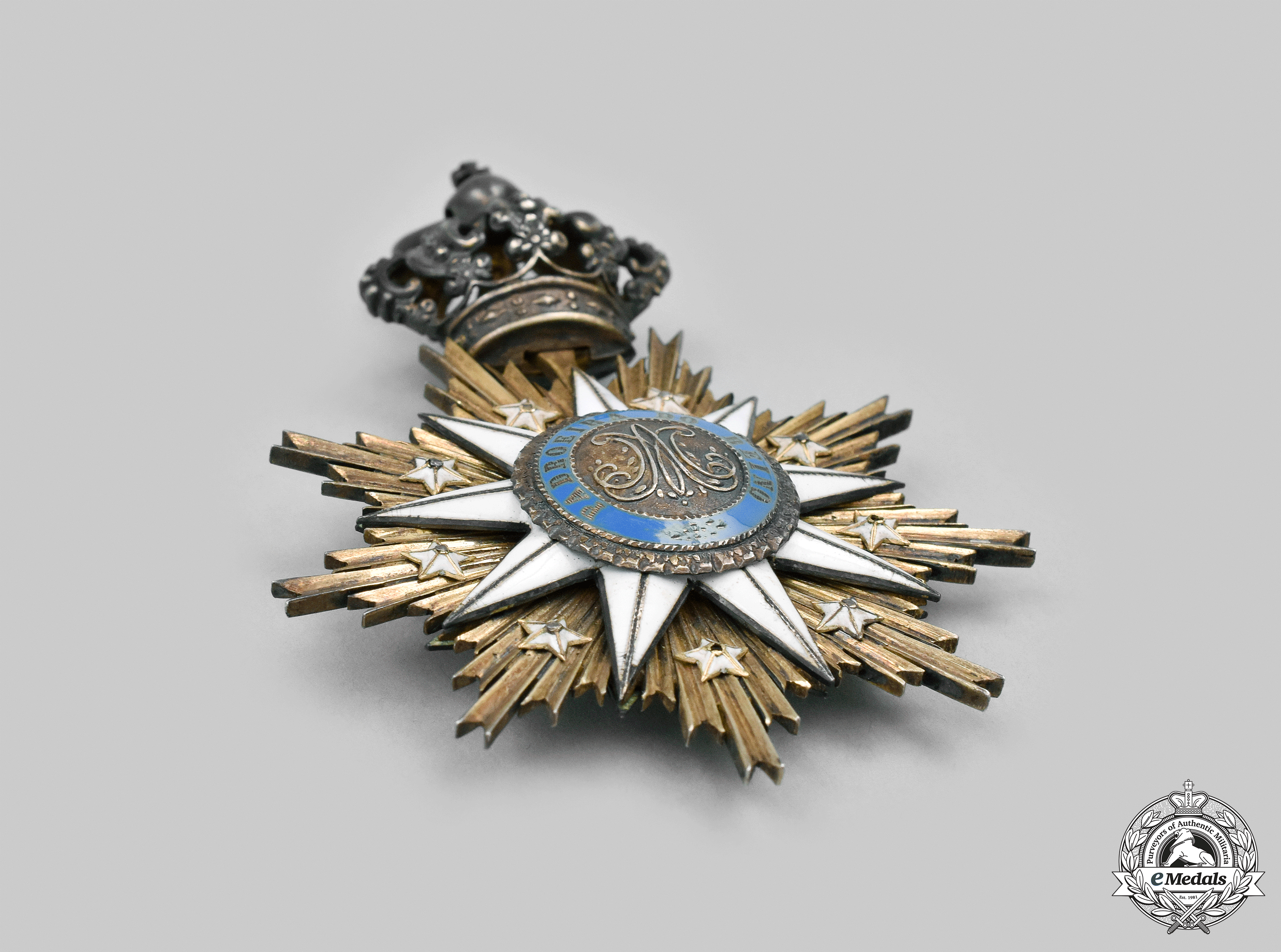 Portugal, Kingdom. An Order of the Immaculate Conception of Vila Viçosa, I Class Grand Cross Badge, c.1900