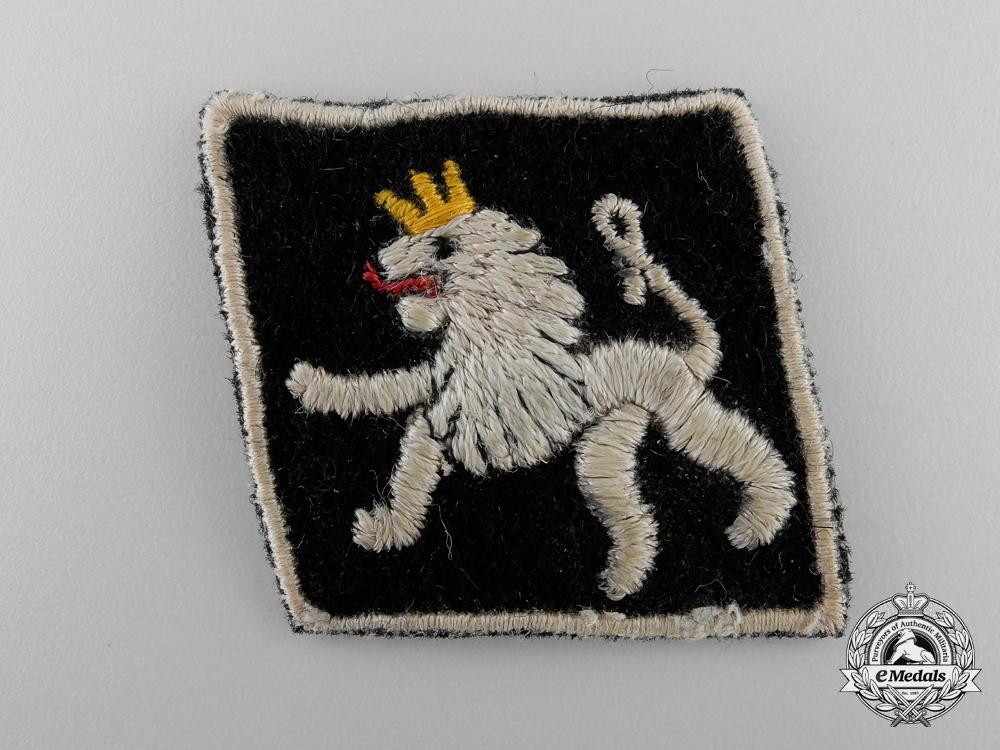 An Unknown Second War Period Belgium or Dutch Insignia