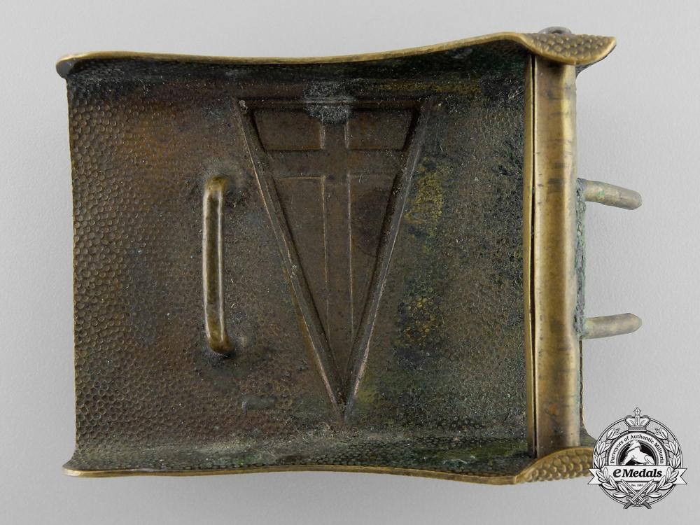 An Unidentified German Belt Buckle