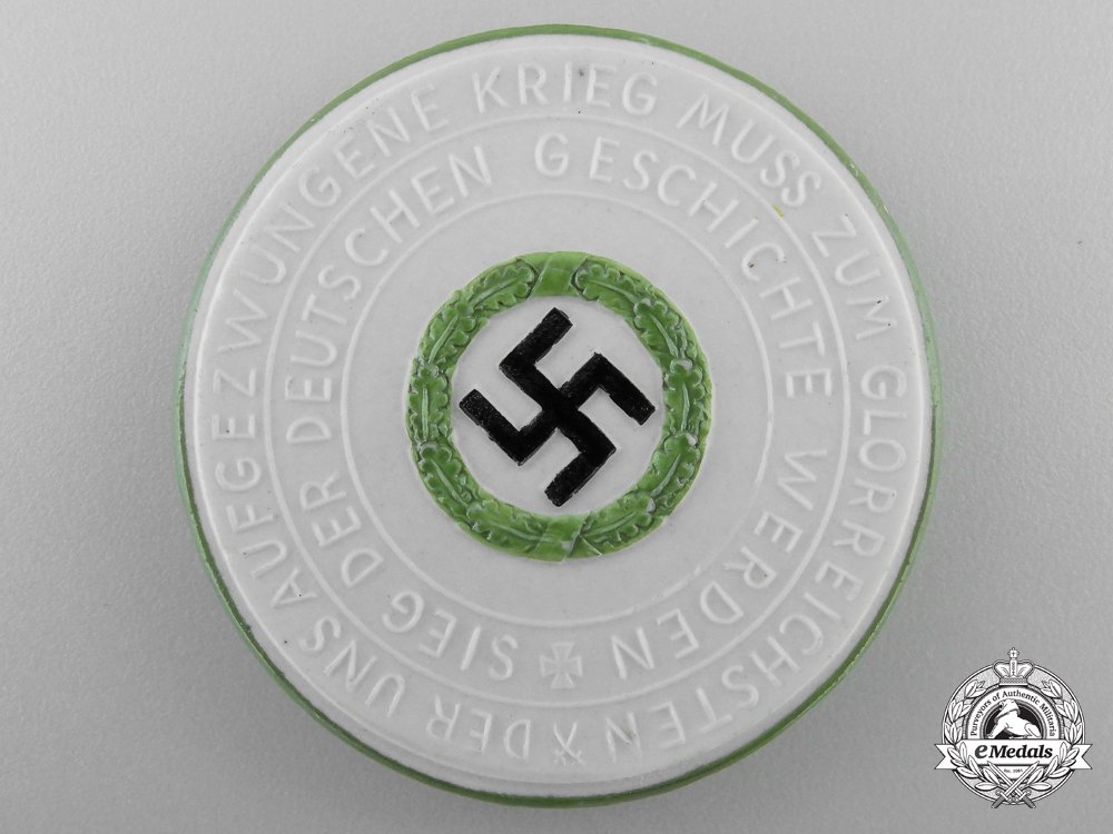A Rare 1940-1941 German Blitzkrieg Upon Britain Medal
