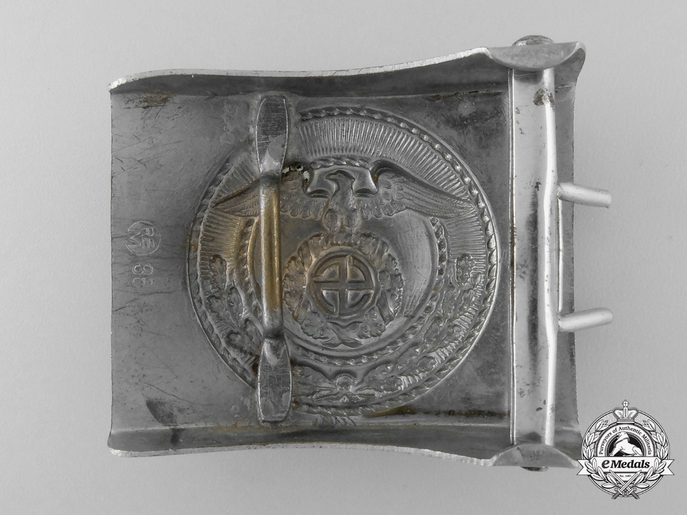A National Socialist Motor Corps Belt Buckle