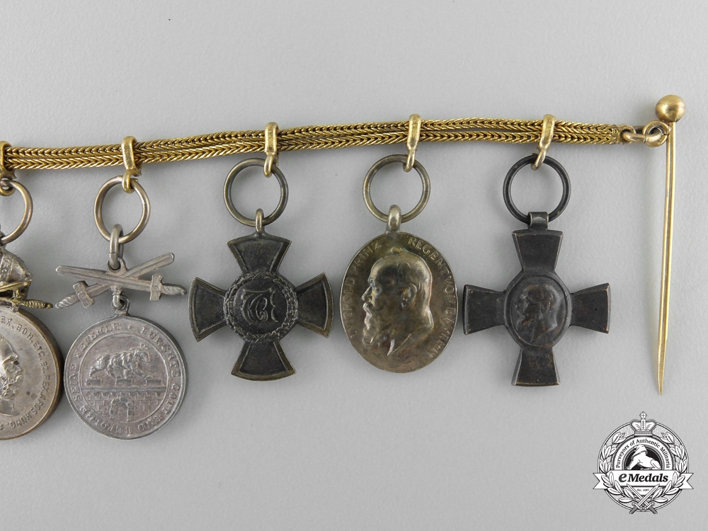 Austria, Imperial. An Order of St. Stephen Miniature Medal Group