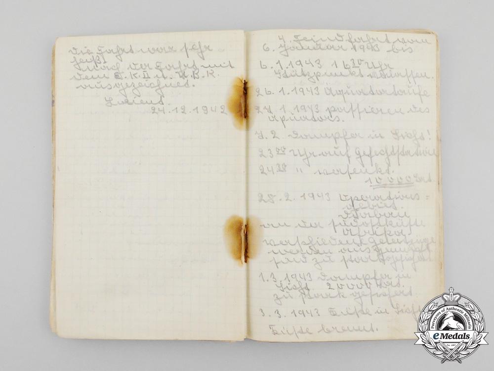 Germany, Kriegsmarine . A KIA Document Group to U-Boat 160 Cook