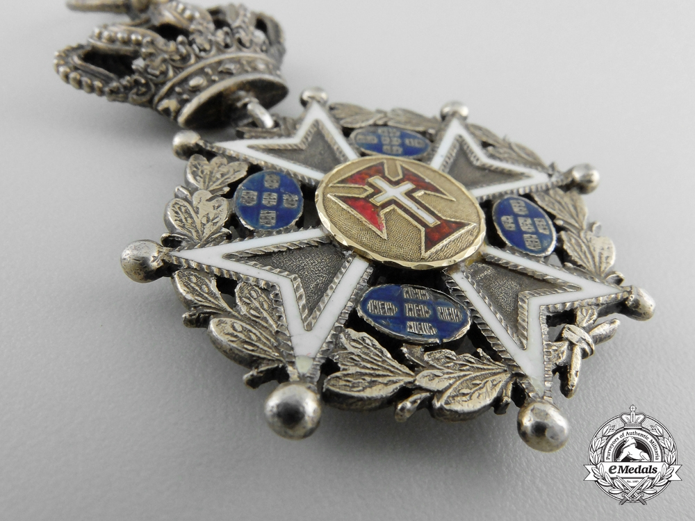 A Portuguese Military Order of Christ; Officer's Cross