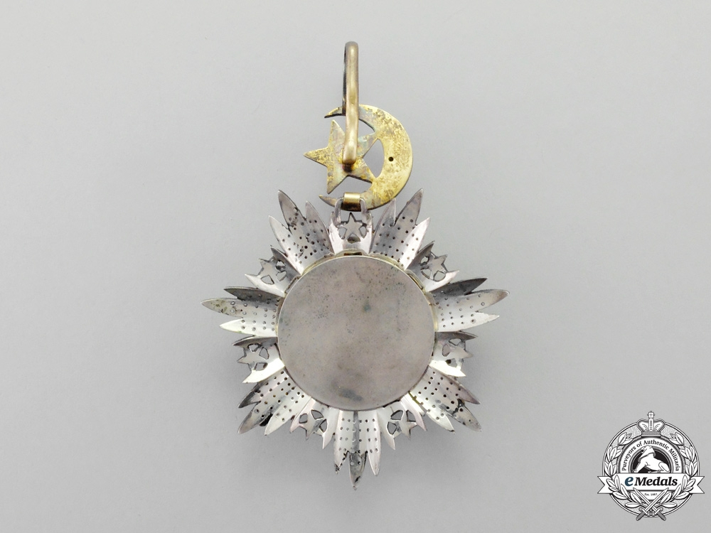 Turkey. A Turkish Ottoman Empire Order of Medjidie (Mecidiye), Grand Cross Set, 1st Class, Military with Crossed Sabres