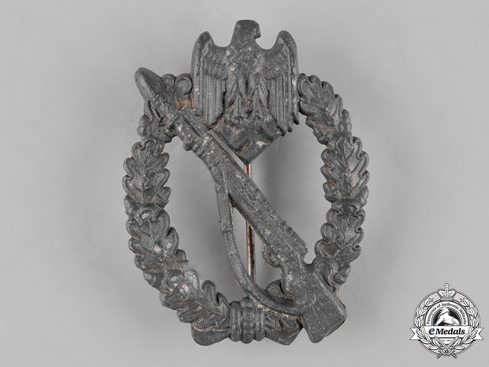 Germany, Wehrmacht. A Silver Grade Infantry Assault Badge