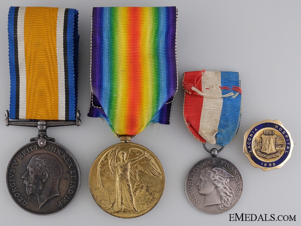 Medals to Nursing Sister Catherine M. MacDonell; C.A.M.C.