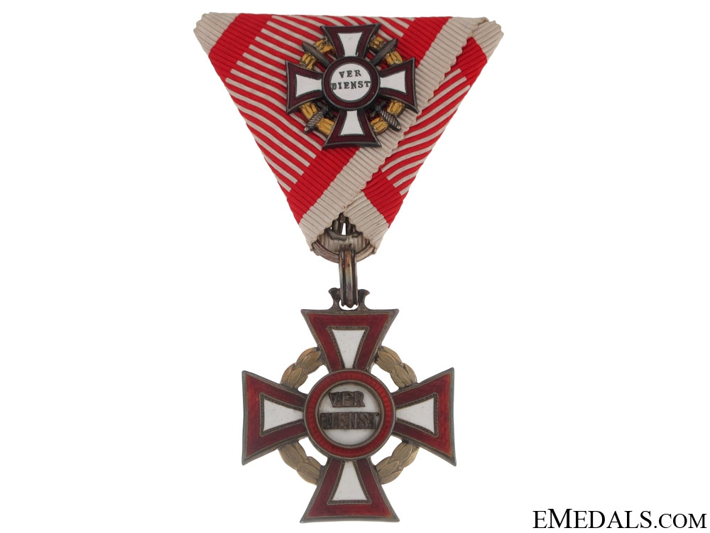 Military Merit Cross with 1st. Cl. Mini Decoration