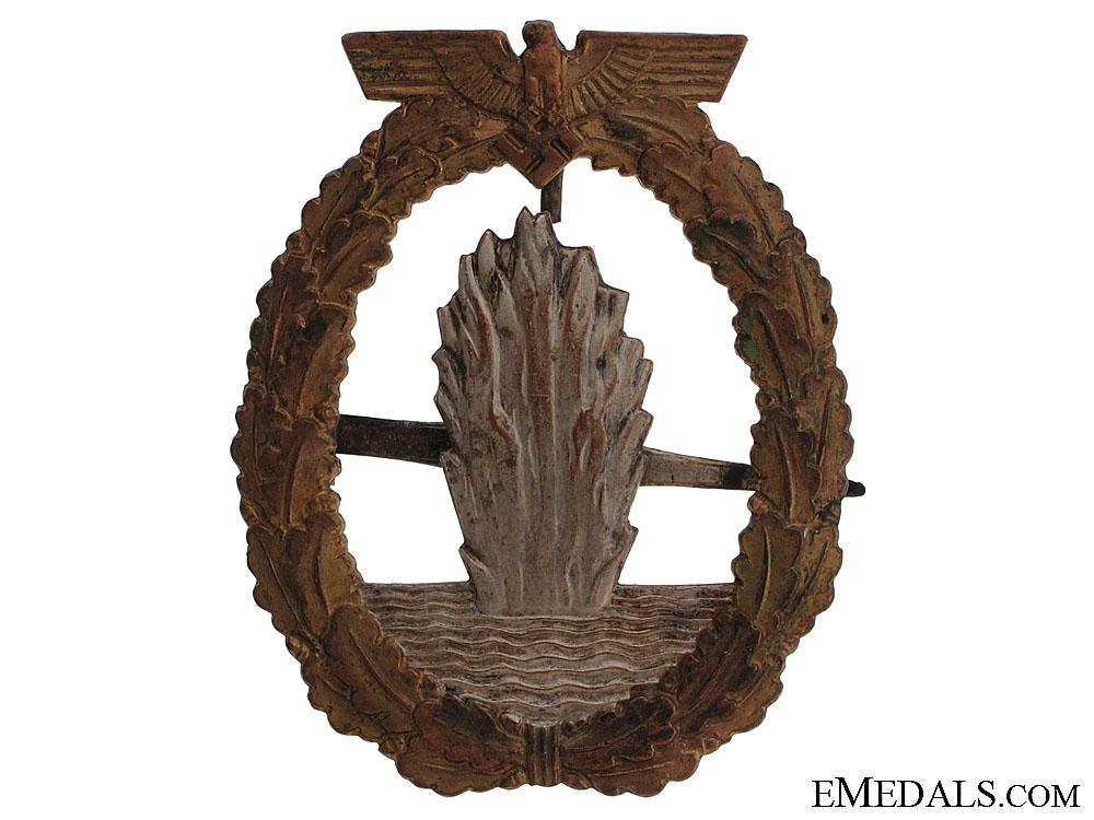 Minesweeper War Badge - Named
