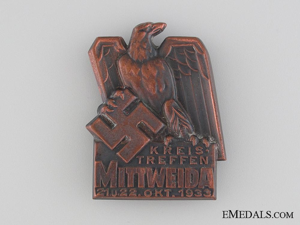 Mittweida Meeting Tinnie, October 21-22, 1933