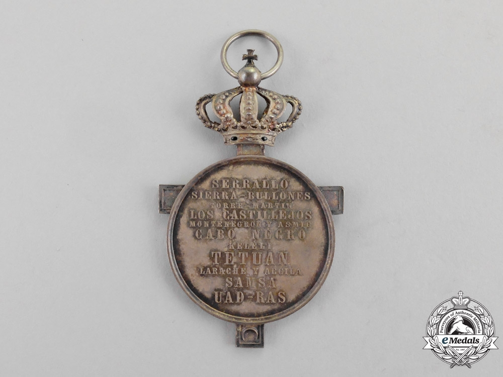 Spain. An African Campaign Medal, c.1860