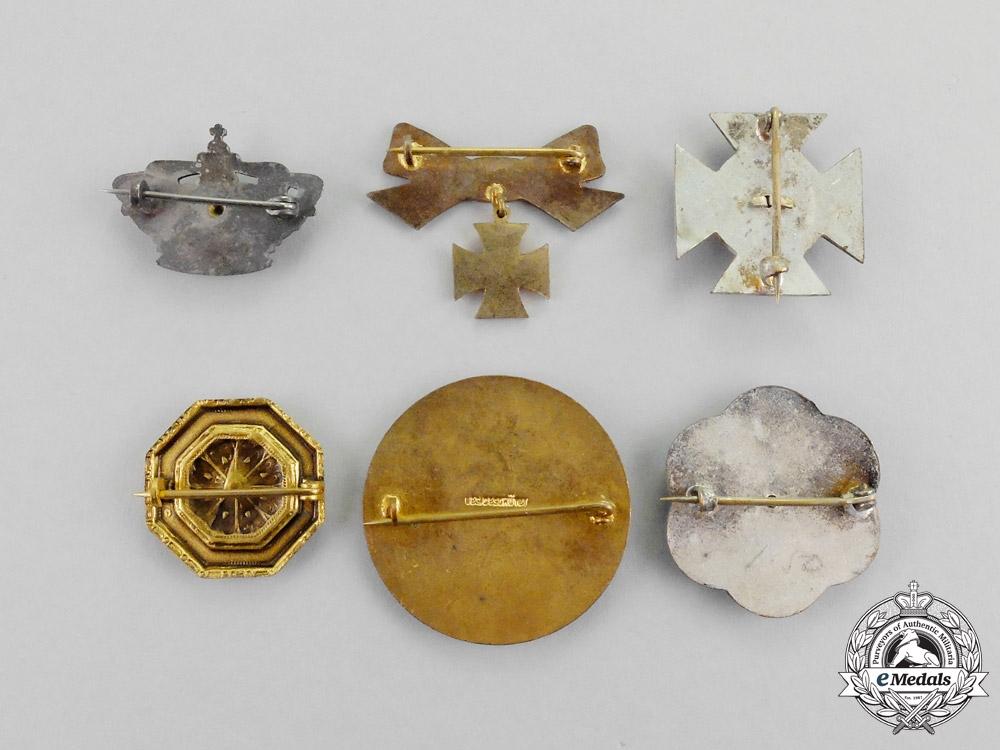 Germany. Six Imperial German Patriotic Iron Cross 1914 Badges