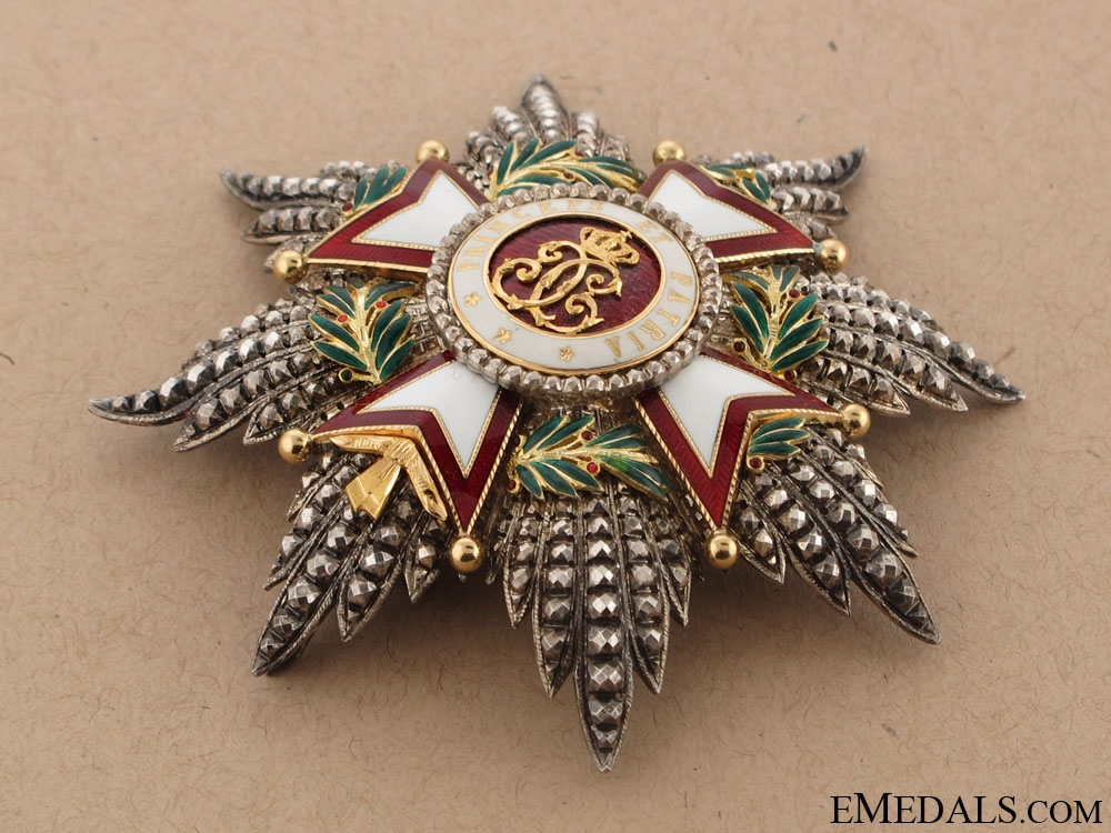 The Grand Cross of the Order of St.Charles
