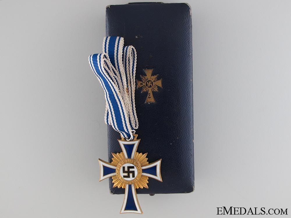 Mother's Cross - Gold Grade & Cased