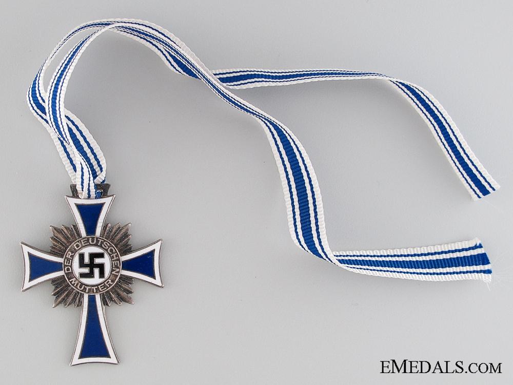 Mother's Cross; Silver Grade