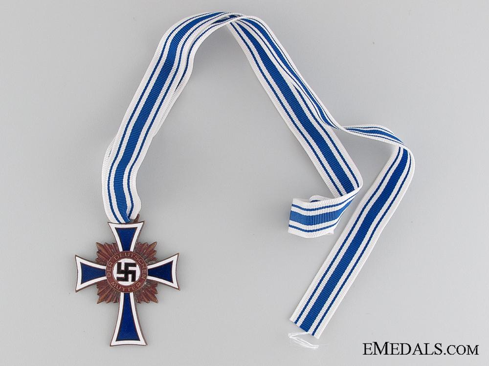 Mother's Cross; Bronze Grade