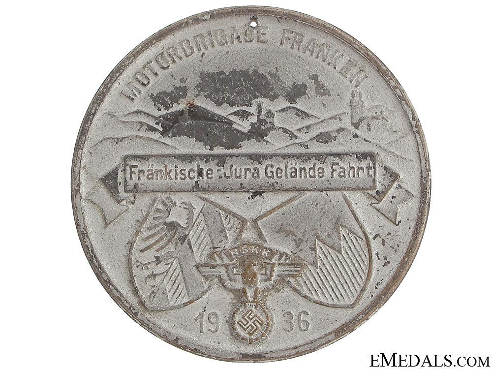 N.S.K.K. Plaque Motorbrigade Franken