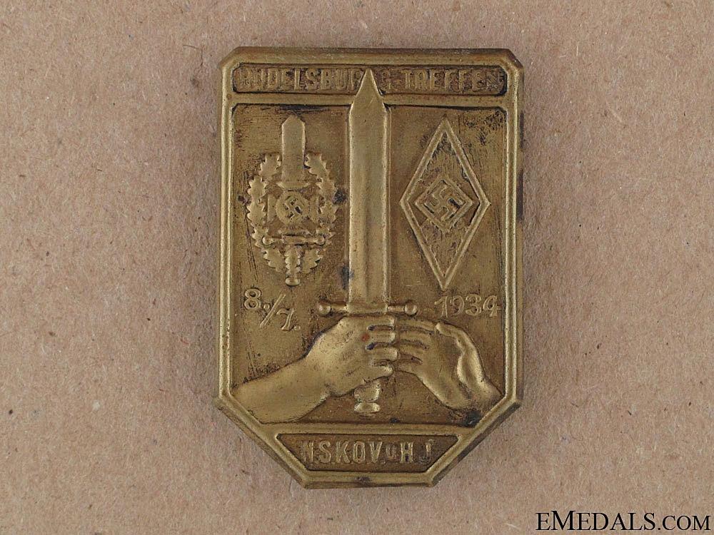 N.S.K.O.V. & HJ Badge