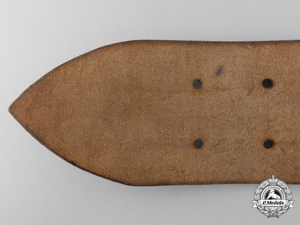A Double Open Claw Belt with Buckle by Paulmann & Crone, Lüdenscheid
