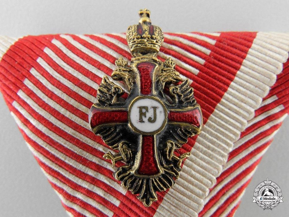An Austrian Order of Franz Joseph with Case by K.Bohm