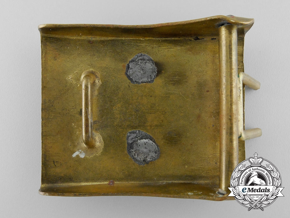 A Bismarck League of the German National People's Party Belt Buckle; Published Example