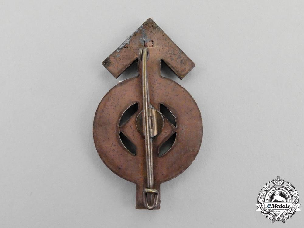 A Bronze Grade HJ Proficiency Sports Badge by C. E. Juncker of Berlin