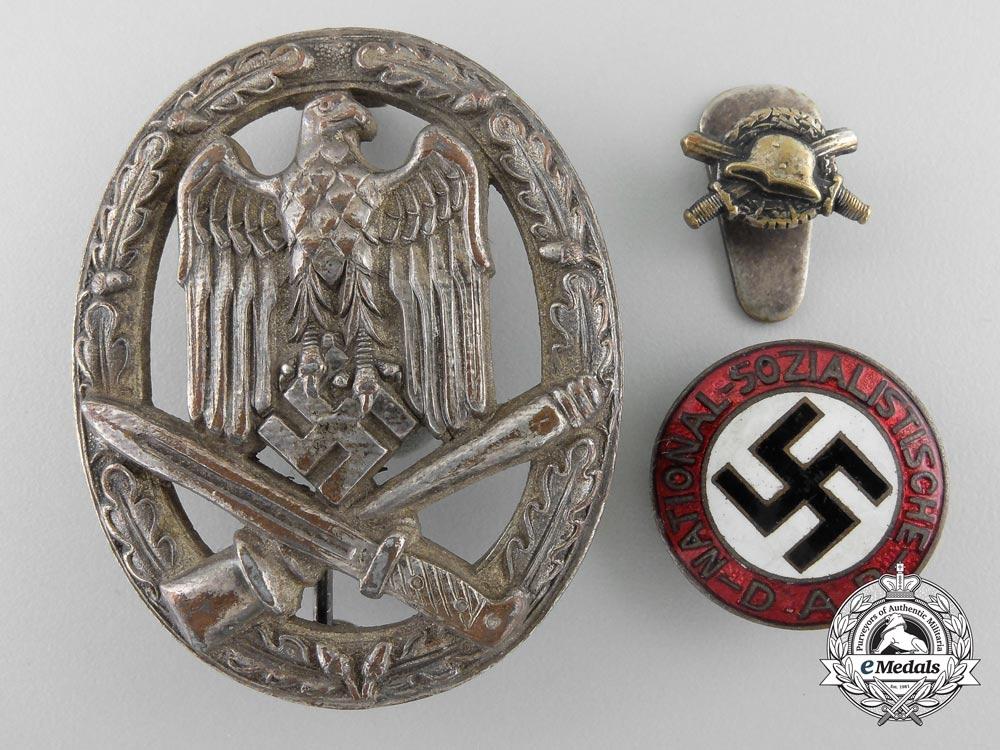Three Third Reich Badges