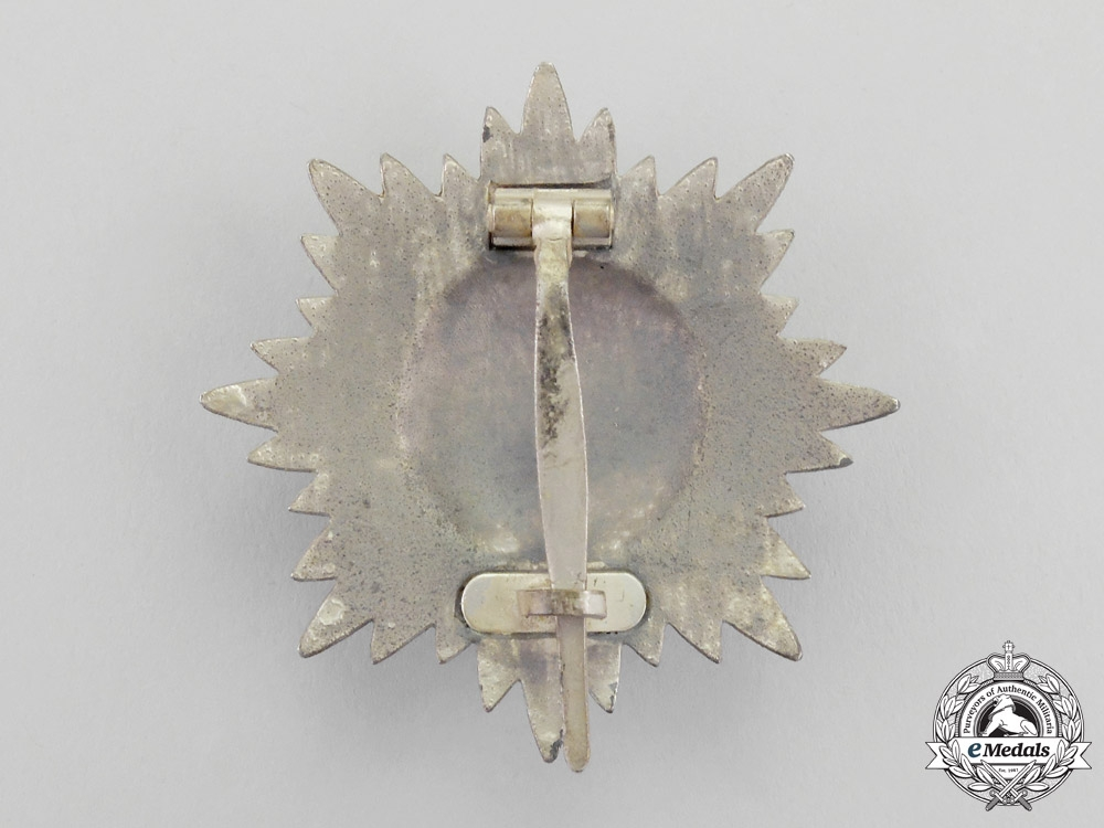 A Silver Grade Eastern People Bravery Decoration; 1st Class by R. Wächtler & Lange