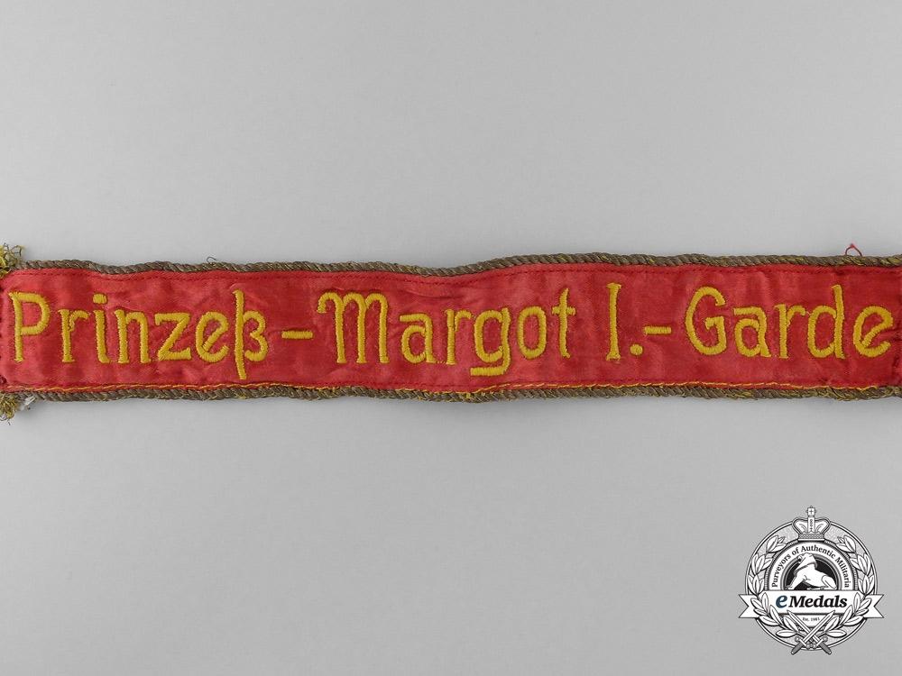 A Rare 1918 Prussian 1st Princess Margaret Guard Cufftitle