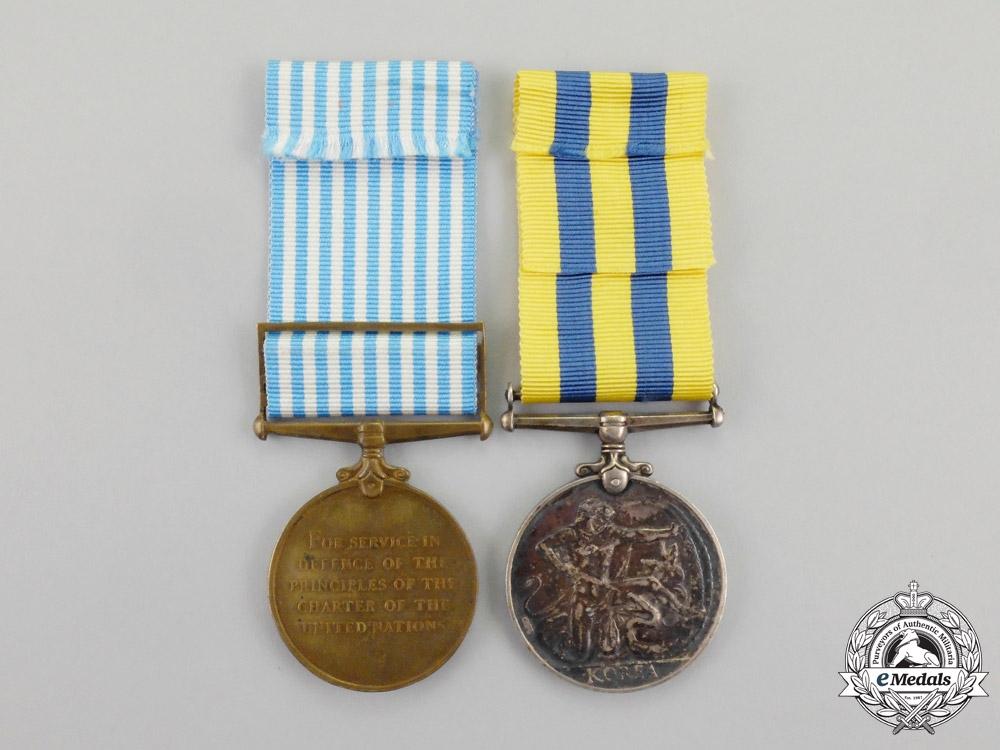 Canada. A Korean War Pair, to C.P. Harvie