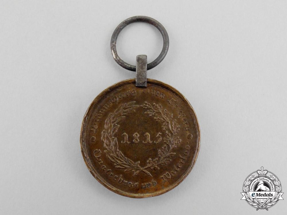 An 1815 Brunswick Waterloo Medal