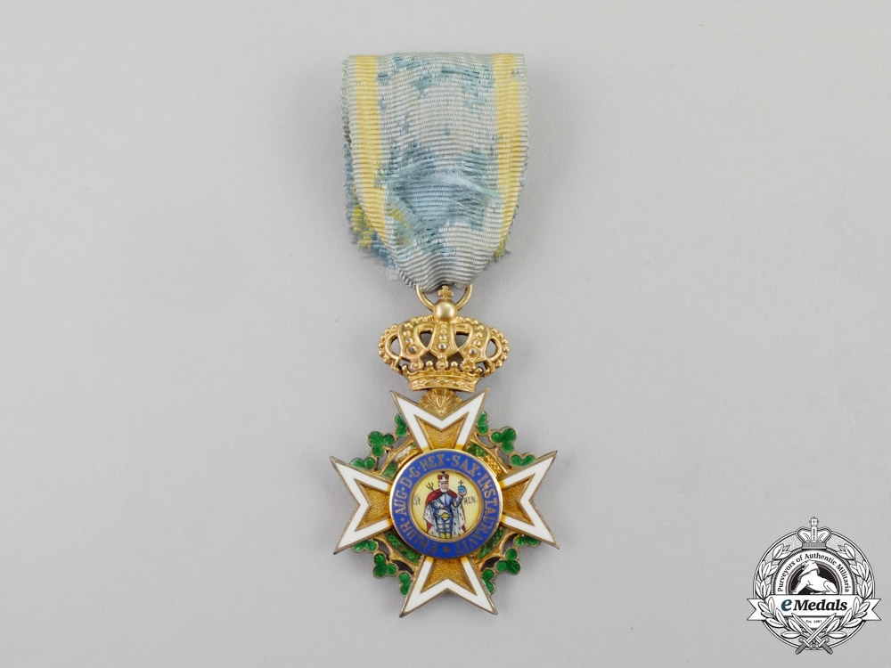 """"""" Saxony. A 1918-1921 Issue Saxon Military Order of St. Henry Knight's Cross"""""""